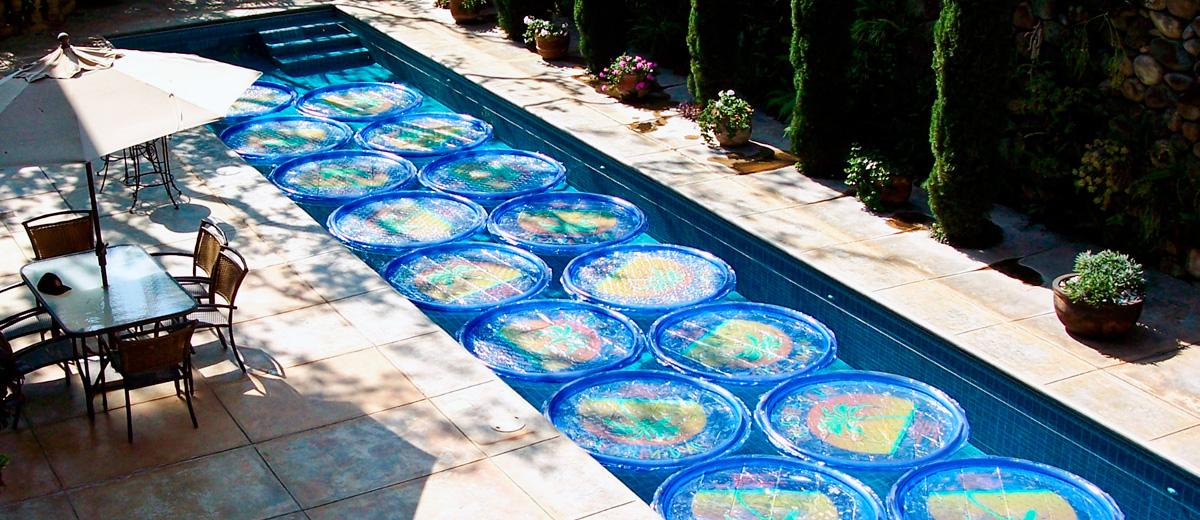 Anillos solares flotantes para la piscina piscina ideal for Piscina solares