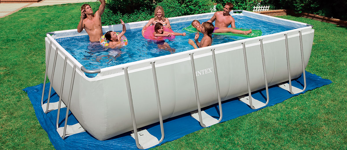 Piscinas intex opiniones para elegir la m s adecuada for Piscinas rectangulares intex