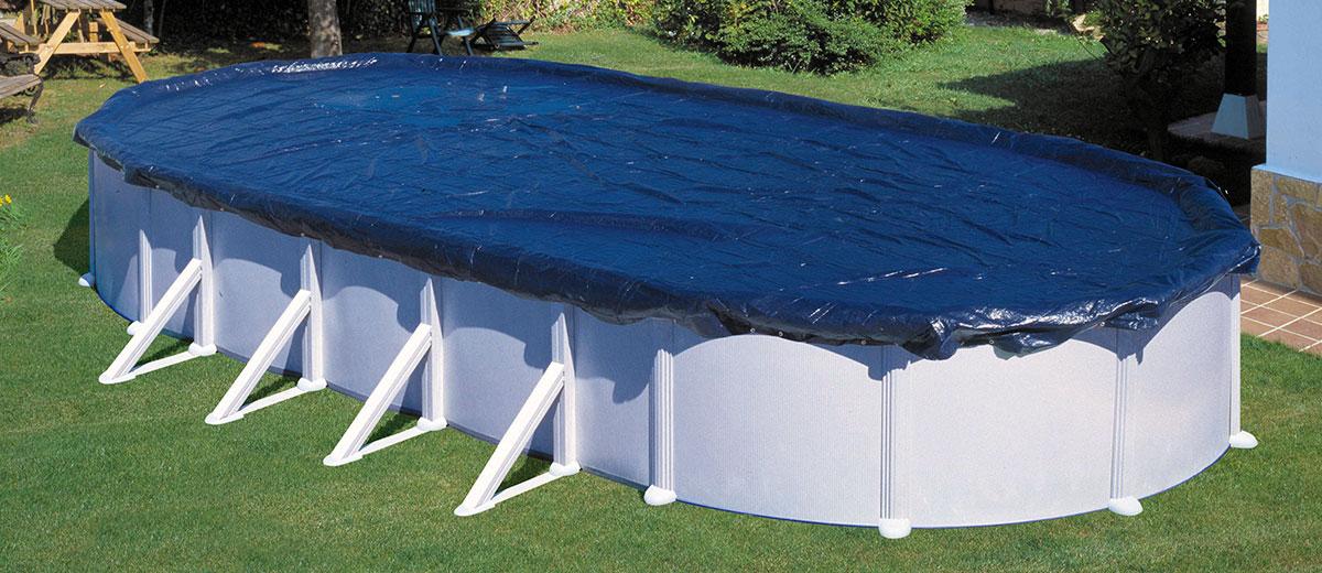Tapar piscina amazing despus cubrieron el resto del for Tela impermeable para piscinas